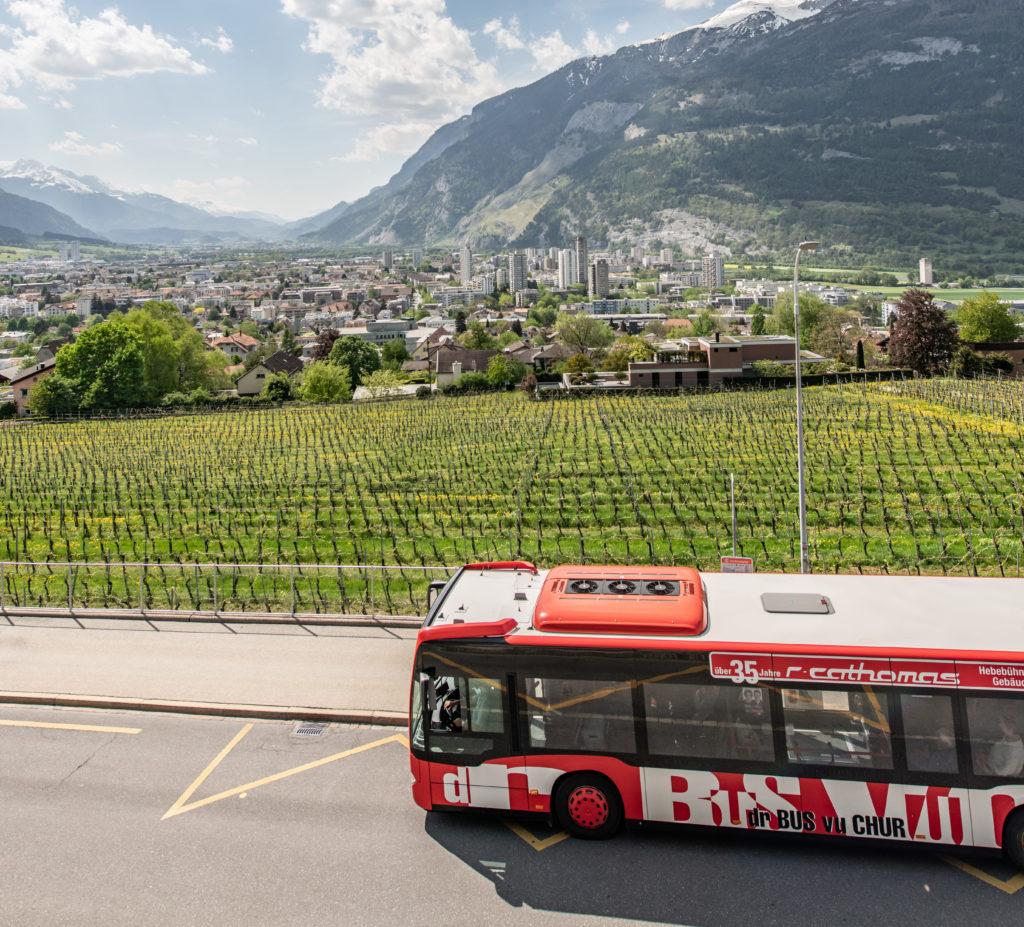 Chur Bus in Chur