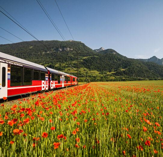 Rhaetische Bahn: Pendlerzug