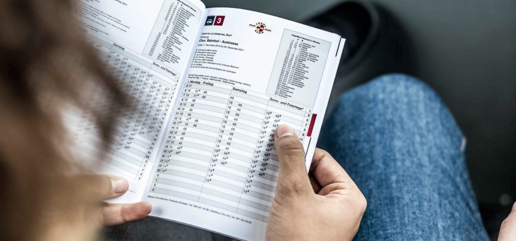 Chur Bus - Info zum Fahrplanwechsel